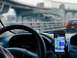 Vehicle with GPS